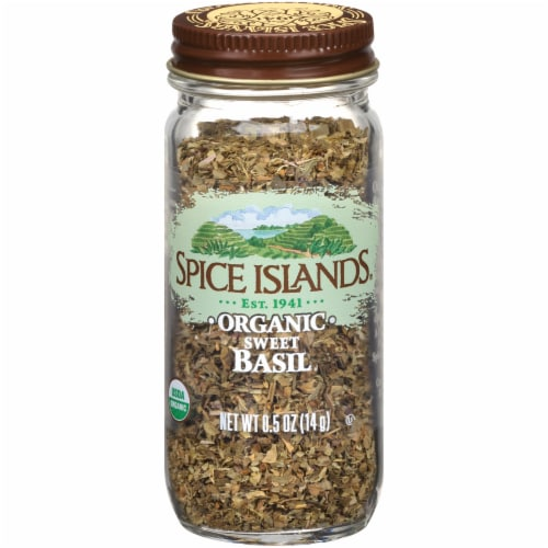 Spice Islands Organic Sweet Basil Perspective: front