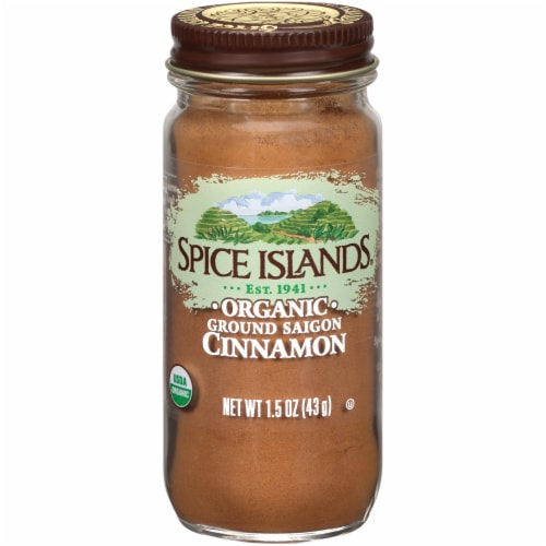Spice Islands Organic Ground Saigon Cinnamon Perspective: front