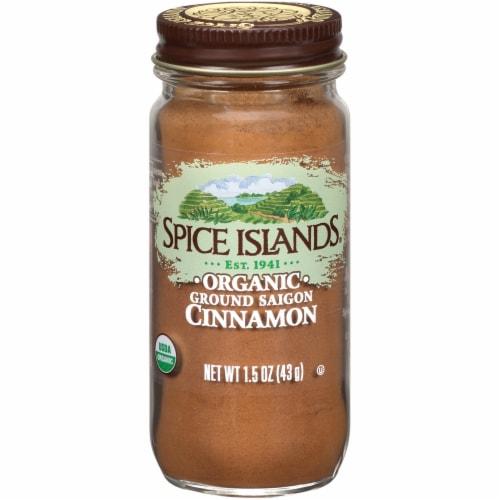 Spice Islands Organic Ground Saigon Cinnamon Perspective: front