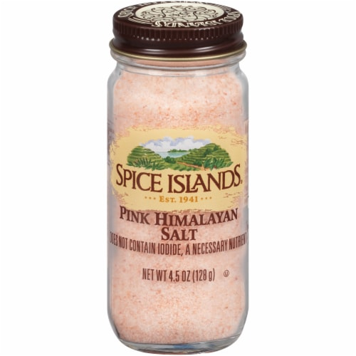 Spice Islands Pink Himalayan Salt Perspective: front