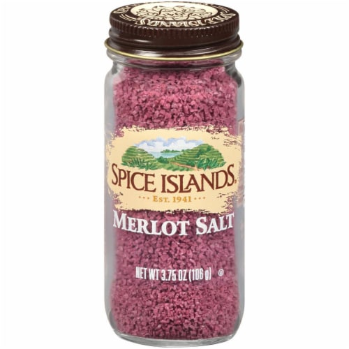 Spice Islands Merlot Salt Perspective: front