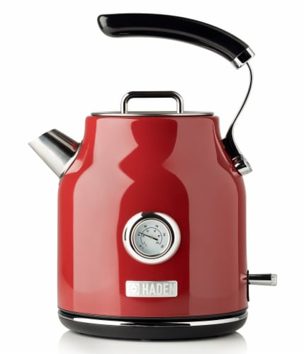 Haden Dorset Stainless Steel Cordless Electric Kettle - Red Perspective: front
