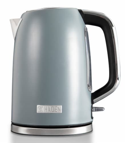 Haden Perth Stainless Steel Cordless Electric Kettle - Slate Gray Perspective: front