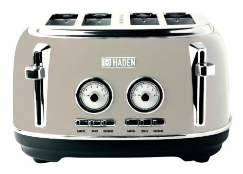 Haden Dorset 4-Slice Toaster - Putty Perspective: front