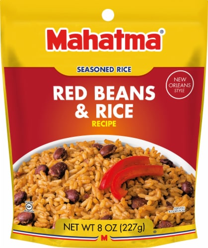 Mahatma Seasoned Red Beans & Rice Perspective: front