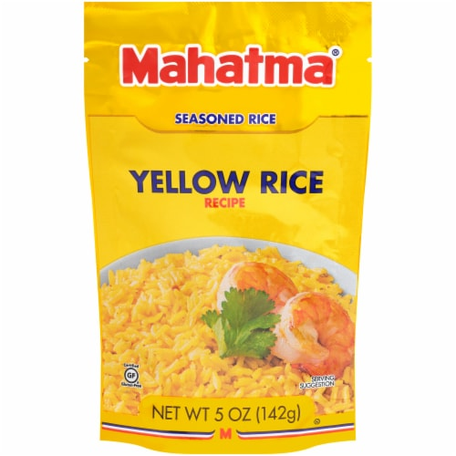 Mahatma Saffron Yellow Long Grain Rice 5 Oz Ralphs