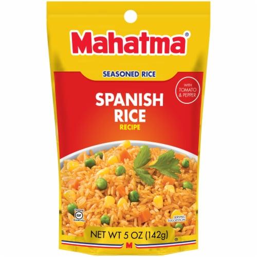 Mahatma Seasoned Spanish Rice Perspective: front