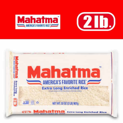 Mahatma Extra Long Grain Rice Perspective: front