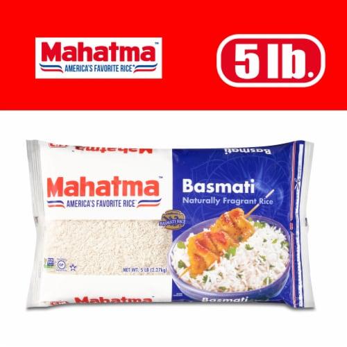 Mahatma Basmati Extra Long Grain Rice Perspective: front