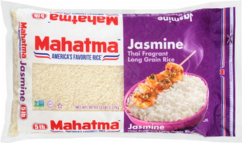 Mahatma Jasmine Long Grain Rice Perspective: front