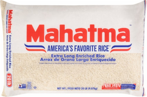 Mahatma Extra Long Enriched Rice Perspective: front