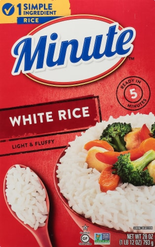 Minute Instant White Rice Perspective: front