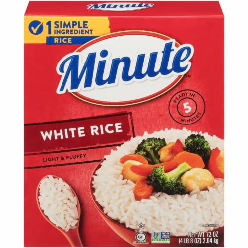 Minute White Rice Perspective: front