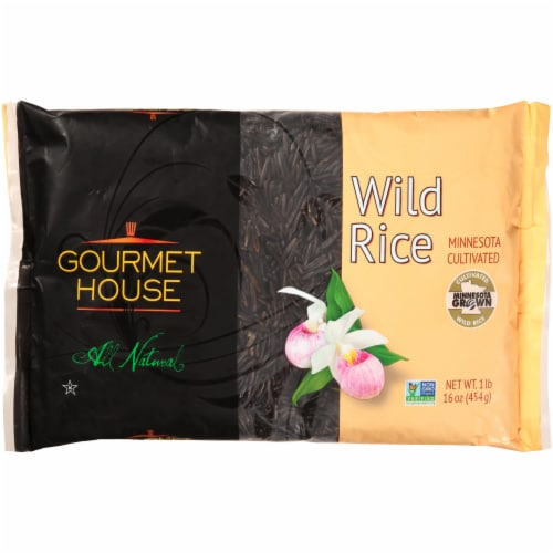 Gourmet House Minnesota Wild Rice Perspective: front