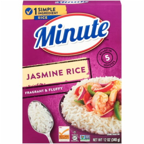 Minute Instant Jasmine Rice Perspective: front
