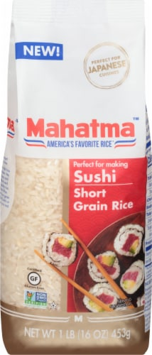 Mahatma Short Grain Rice Perspective: front