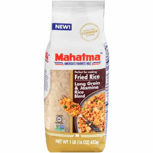 Mahatma Long Grain & Jasmine Rice Blend Perspective: front