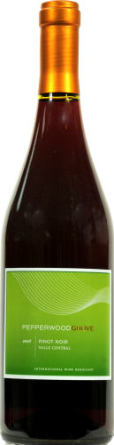 Pepperwood Grove Pinot Noir Perspective: front