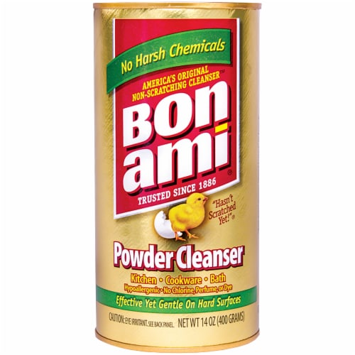 Bon Ami Powder Cleanser Perspective: front
