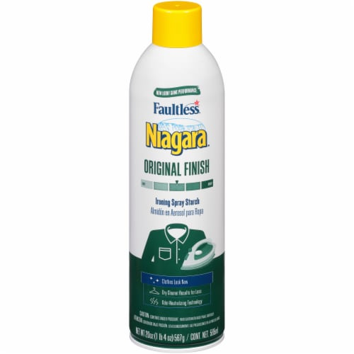 Niagara Original Finish Ironing Spray Starch Perspective: front