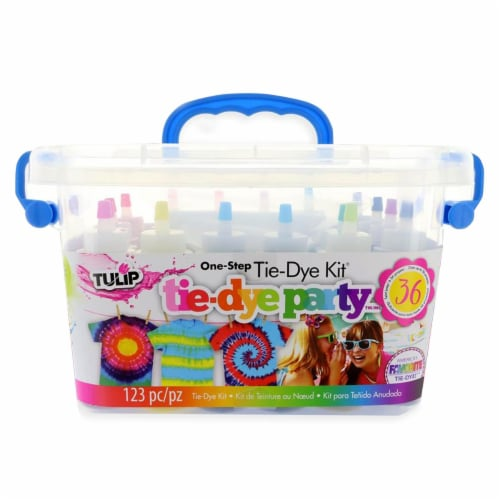 Tulip One Step Tie Dye Kit 18 Assorted Colors Perspective: front