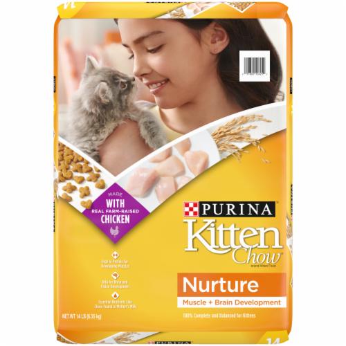 Kitten Chow Nurture Dry Kitten Food Perspective: front