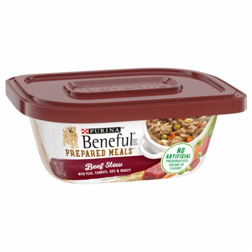 Beneful Prepared Meals Beef Stew Adult Wet Dog Food Perspective: front