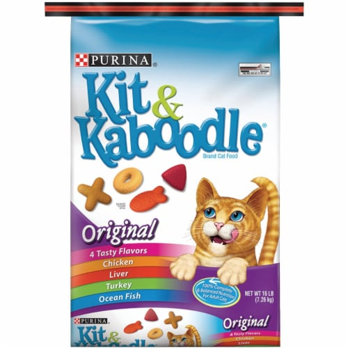Kit & Kaboodle® Original Dry Cat Food Perspective: front
