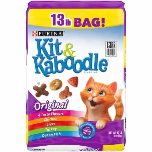Kit & Kaboodle Original Dry Cat Food Perspective: front