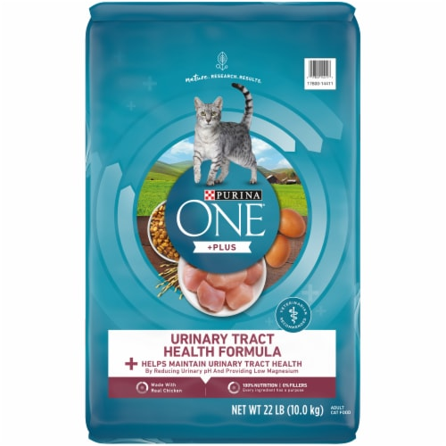Purina ONE Urinary Tract Health Dry Adult Cat Food Perspective: front
