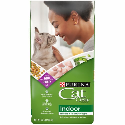 Cat Chow Indoor & Immune Health Blend Dry Cat Food Perspective: front