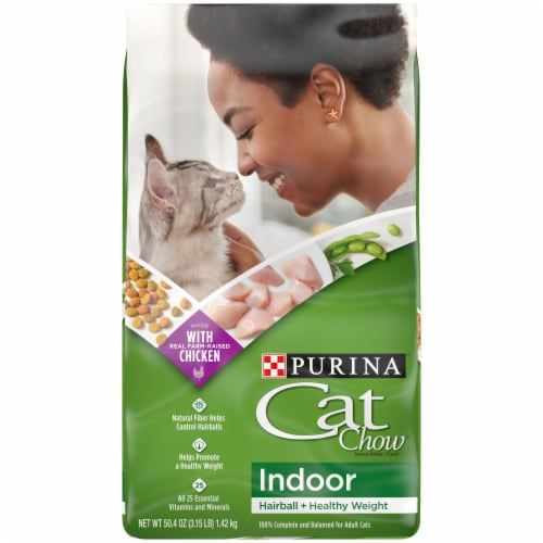 Purina Cat Chow Indoor Dry Cat Food Perspective: front