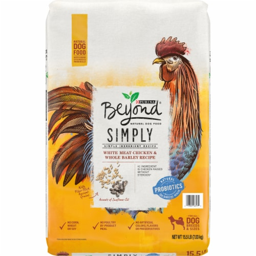 Beyond Simply White Meat Chicken & Whole Barley Recipe Adult Dry Dog Food Perspective: front