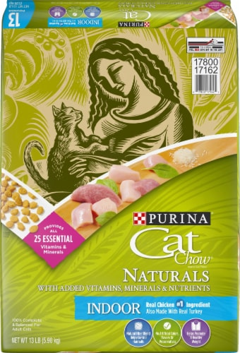 Cat Chow Naturals Real Chicken & Turkey Indoor Dry Cat Food Perspective: front