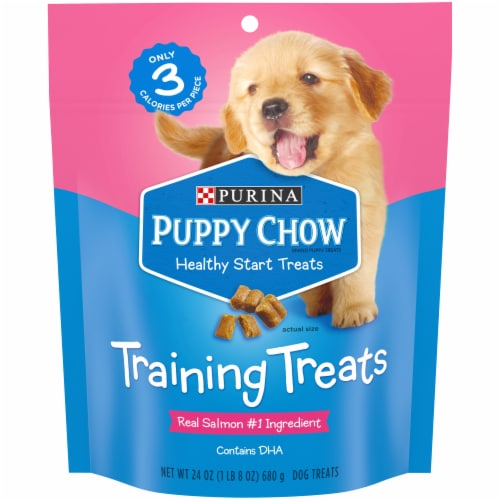 Puppy Chow Healthy Start Dog Training Treats Perspective: front