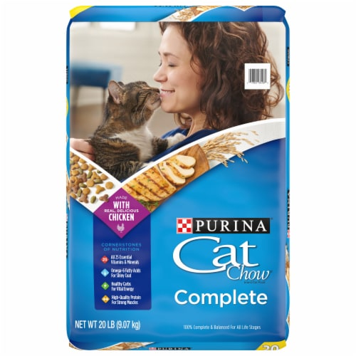 Cat Chow Complete Dry Cat Food Perspective: front