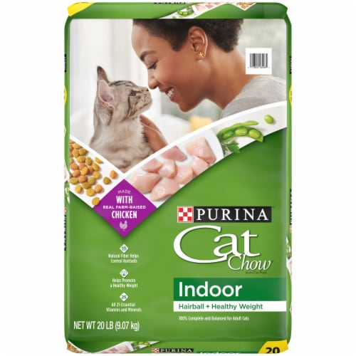 Cat Chow Indoor Adult Dry Cat Food Perspective: front