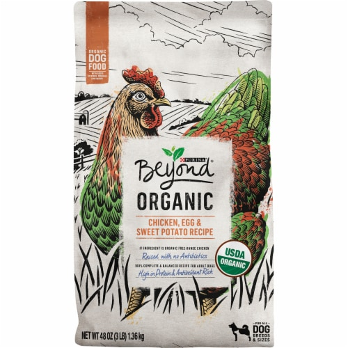 Beyond Organic Chicken Egg & Sweet Potato Adult Dry Dog Food Perspective: front