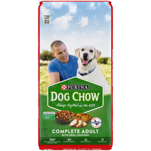 Purina® Dog Chow Complete Adult with Chicken Dry Adult Dog Food Perspective: front