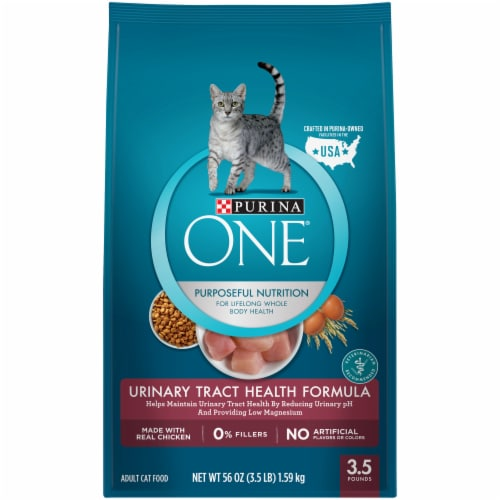 Purina ONE Urinary Tract Health Formula Dry Cat Food Perspective: front