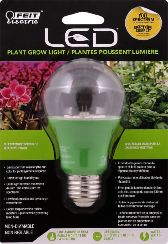 Feit Electric LED Plant Grow Light Bulb Perspective: front