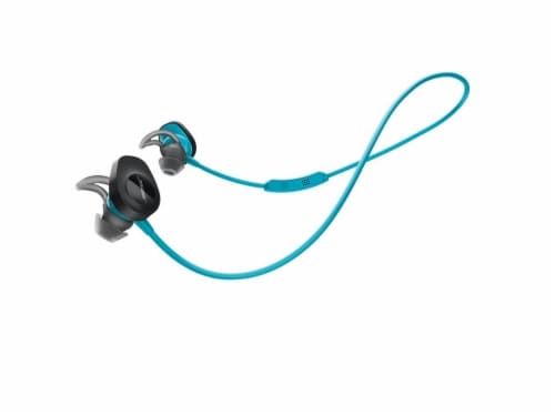 Bose SoundSport Wireless Bluetooth In-Ear Headphones - Aqua Perspective: front