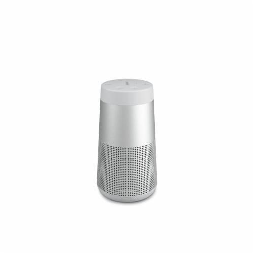 Bose SoundLink Revolve Bluetooth Speaker - Silver Perspective: front