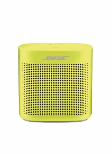 Bose SoundLink Color Bluetooth Speaker II - Yellow Citron Perspective: front