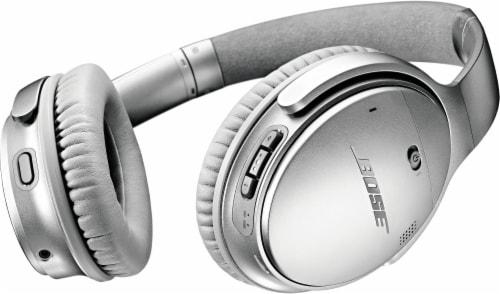 Bose QuietComfort 35 Wireless Headphones II - Silver Perspective: front