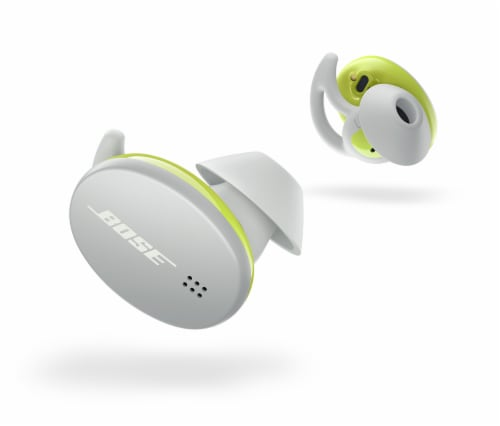 Bose Sport Earbuds - Glacier White Perspective: front