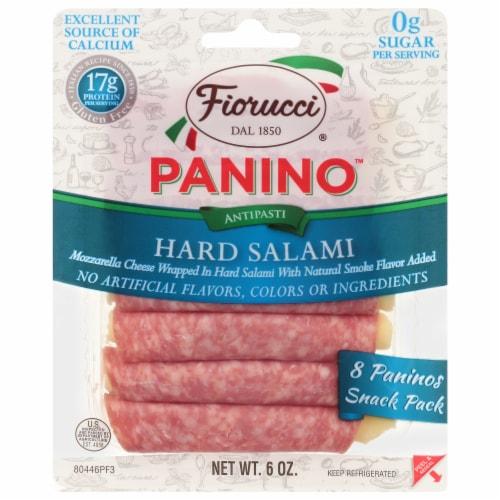 Fiorucci Pannino Antipasti Hard Salami Perspective: front