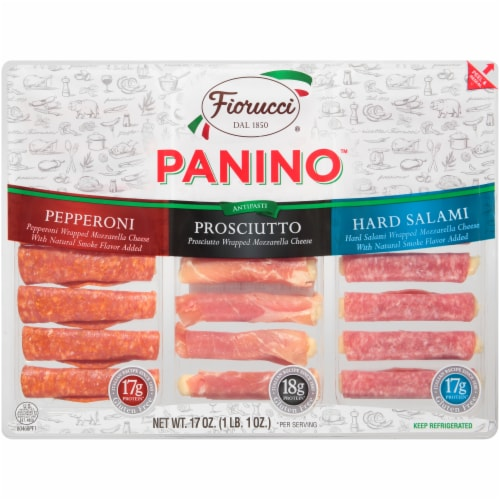 Fiorucci Panino Italian Style Meat Variety Pack Perspective: front