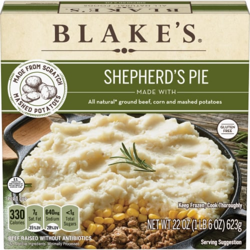 Blake's Shepherds Pie Family Size Perspective: front