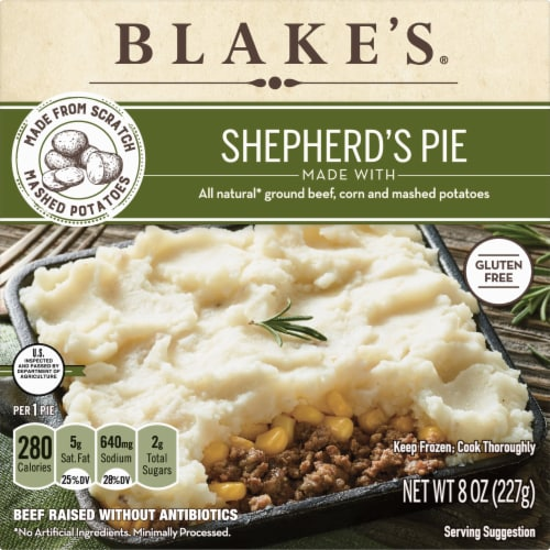 Blake's Shepherd's Pie Family Size Perspective: front